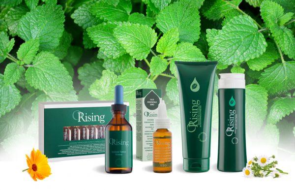 orising produkty linia zielona trychologiczna profesjonalna na przetluszczającą się skórę głowy